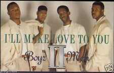 BOYZ II MEN - I'LL MAKE LOVE TO YOU 1994 UK CASSINGLE CARD SLEEVE SLIP-CASE