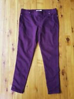 BREAKERS Plum/Purple 'Kate' Stretch Jeans Size 16