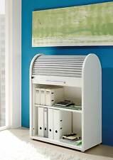 Rolladenschrank, weiß, Rollladenschrank, Aktenschrank, Büroschrank, Büromöbel