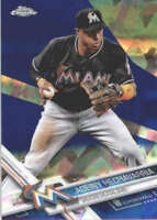 ADEINY HECHAVARRIA 2017 TOPPS CHROME SAPPHIRE EDITION #13 ONLY 250 MADE