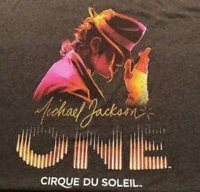 Michael Jackson ONE Cirque Du Soleil T-Shirt Men's Size XL Official