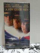 A Few Good Men (VHS, 1992) Tom Cruise Jack Nicholson Demi Moore NEW SEALED