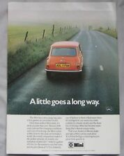 1974 Mini Original advert No.1