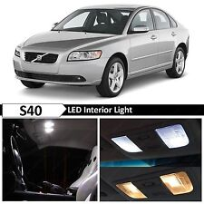 18x Bulbs White Interior LED Lights Package Kit for 2005-2012 Volvo S40