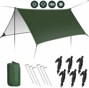 Camping Zeltplane, Tarp für Hängematte, Wasserdicht, Leicht Tarp Hammock 3*3M