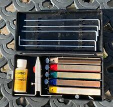 Lansky Professional System Precision Knife Sharpening Kit Good Condition