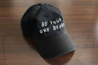Black BYOB Dad Hat Unstructured Adjustable Baseball Cap - Reign Bow Ties