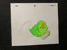Real Ghostbusters Cartoon Animation Cel & Pencil Drawing 11 D-9 Slimer Driving
