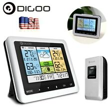 Us Digital Wireless Weather Forecast Station Indoor Outdoor Thermometer