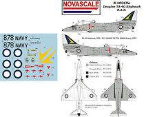 RAN TA-4G Skyhawk Mini-Set Decals 1/48 Scale N48069a