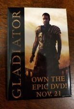 Gladiator pin badge - Russell Crowe