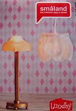 2 Lampen Deckenlampe Stehlampe Puppenhaus Lundby 2015