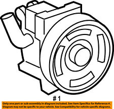 FORD OEM-Power Steering Pump 6E5Z3A696B