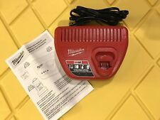 Milwaukee Charger 48-59-2401 M12 12v Red Lithium Ion NEW bare tool