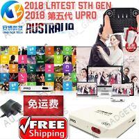 2018 Unblock 安博5代Tech Gen5 I900 UPRO OS GLOBAL UBOX5 WIFI Media IPTV TV Box Asia