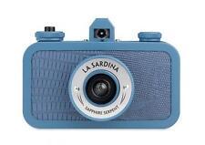 Lomography La Sardina Sapphire Serpent Blue Camera *1xFilm & 1st Class P&P*