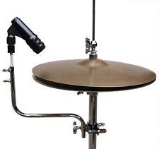 2 Pack! Hi Hat Mic Custom Drum Percussion Hardware Holder Arm Clamp Mount New