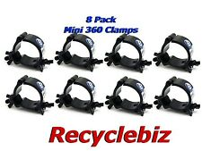 NEW! Global Truss Mini 360 Clamp (8 PACK) Black Finish Complete Your Light Rig!