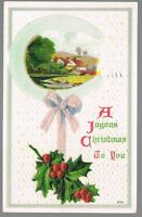 Vintage Joyous Christmas Postcard No. 630