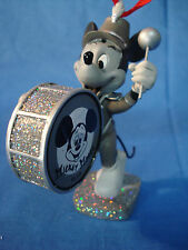 Mickey Mouse Band Leader Christmas Ornament Disney Store 2011