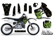 Dirt Bike Graphic Kit Decal Sticker Wrap For Kawasaki KX500 1988-2004 RELOAD G K