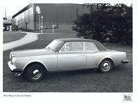 Rolls-Royce Corniche Saloon c.1978 original official press photo