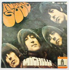 EP 45 t Beatles Rubber Soul Odéon MEO 102