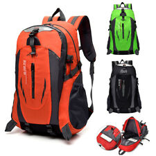 40L Waterproof Backpack Nylon Rucksack Hiking Camping Trekking Bag Laptop Bag
