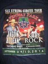 2016 Jason Aldean Fenway Park Kid Rock Green Monster (Xl) T-Shirt Red Sox Ortiz