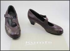 KUMFS WOMEN'S DEEP PURPLE MID HEELS CLASSIC DRESS SHOES SIZE 6.5 XW AUST
