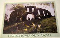 Scotland McCaig's Tower Oban, Argyll PAR-00612 DRG J Arthur Dixon - posted 1989