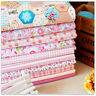 100% Cotton Fabric sheets Mixed  Squares  Sewing Bundles Patchwork for DIY Craft
