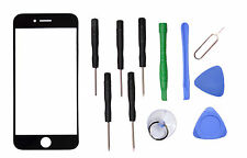 "Black Front Outer Screen Glass Lens Replacement Parts for Apple 4.7"" iPhone 7"