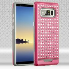 Samsung GALAXY Note 8 Bling Glitter Hybrid Shockproof Rubber Rugged Case Cover