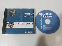 JUAN LUIS GUERRA Y LOS 4:40 UNIVERSO LATINO CD 2001 PROMOCIONAL EL PAIS