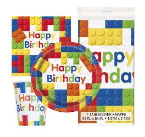 Building Block Party Pack for 8 People