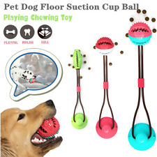 Dog Toy Floor Suction Cup Ball For Cat Pet Teeth Cleaning Chewing Playing hot
