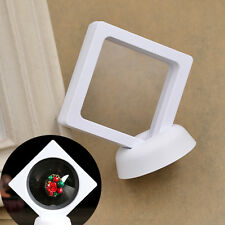PET Membrane Jewellery Display Stand with Base Ring Earring Organizer Case
