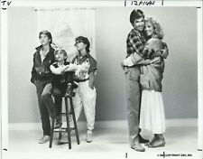 GROWING PAINS CAST MEMBERS ORIGINAL 1985 ABC TV 7X9 PRESS PHOTO WITH NOTE