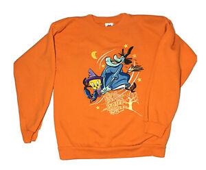 Vintage Looney Tunes Crewneck Sweatshirt Tweety Bird Youth Size L (10-12)