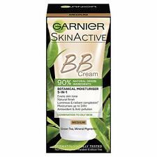 Garnier BB Crema 90% natural de origen Medio Tinted Hidratante 50ml Paquete de 6