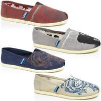 Mens Casual Canvas Espadrilles Plimsolls Trainers Pumps Deck Beach Shoes Size