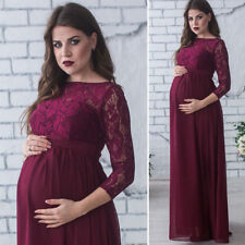 Sexy Maternity Maxi Dresses Pregnant Women Photography Props Fancy Dress Clothes