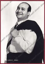AURELIO FIERRO 04 CANTANTE SINGER MUSICA MUSIC - MONTELLA Cartolina FOTOGRAFICA