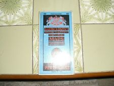 Vintage Bartholomew - Half-inch Contoured Cloth Map Perthshire - Sheet 48 -1961