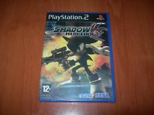 SHADOW THE HEDGEHOG PS2 (PAL ESPAÑA PRECINTADO)