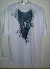 Spiderman Nero SYMBIOTE petto T-shirt Super Eroe Fumetto L Large 44
