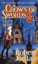 Wheel of Time #7: A Crown of Swords by Robert Jordan (1997, Mass Market PB)