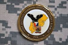 Challenge Coin US Army Material Command Logistics Support Element SWA Commander