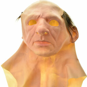 Another Me-The Elder Halloween Holiday Funny Masks Supersoft Old Man Adult Mask#